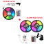 thumbnail 21 - 5M-10M-Smart-WIFI-LED-Strip-Light-Kit-5050-3528-SMD-RGB-APP-Controller-12V-Power
