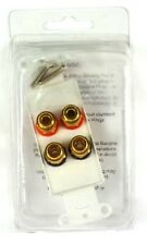 IWM-4BPG OEM SYSTEMS 5-Way Binding Posts (4 connector plates) for speaker cables
