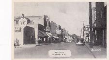 ST GEORGE , SC , 20-30s ; Main Street, Drugs/Pharmacy Store, Texaco Gas Station,