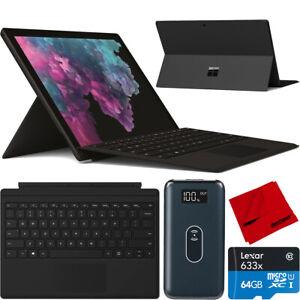 "Microsoft Surface Pro 6 12.3"" LJM-00028 i5 8GB 256GB Type Cover Keyboard Bundle"