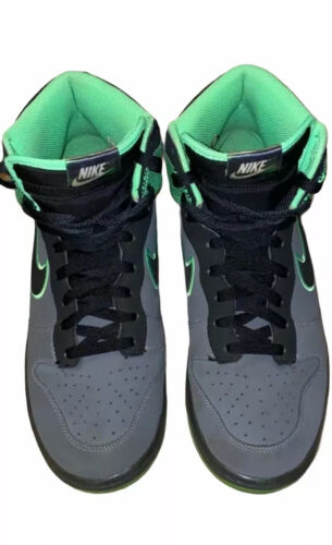 Nike Dunk High Size 11.5 pre owned Green/Grey