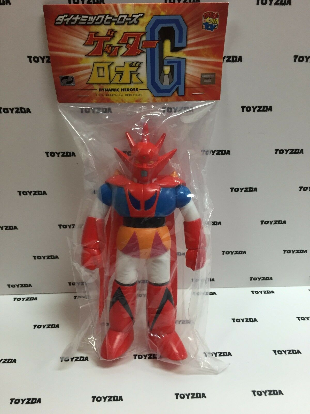 Medicom Dynamic Heroes Getter Robo Getter Dragon PVC Figure 1pc
