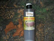 DOE-N-HEAT - 18oz. Bottle of Whitetail Doe estrus Urine/ Buck Lure