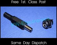 2.5mm DC Power Socket Panel Mounting and Plug