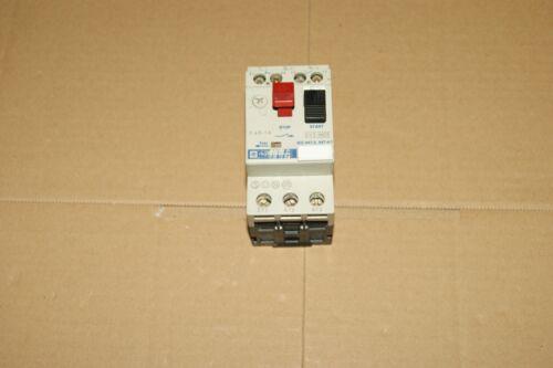 1 Disjoncteur Moteur TELEMECANIQUE 0.63-1 A  GV2M05