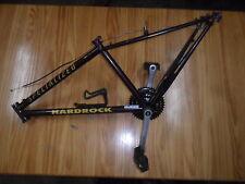 "Specialized HardRock Ultra Mountain Bike FRAME CRANKSET 14"" 13.5"" WILD CHERRY"