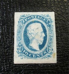 nystamps US CSA Confederate Stamp # 11 Mint OG H $16 F26x600