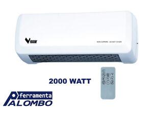 TERMOCONVETTORI VIGOR VI-TCPA - POTENZA WATT 1000-2000 - FUNZIONE VENTILAZIONE -