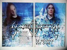 COUPURE DE PRESSE-CLIPPING :  SONATA ARCTICA [4pages] 2001 Toni Hakko,Silence