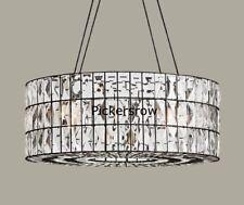 Pottery Barn Gemma Crystal Tiered Round Chandelier For Sale Online Ebay