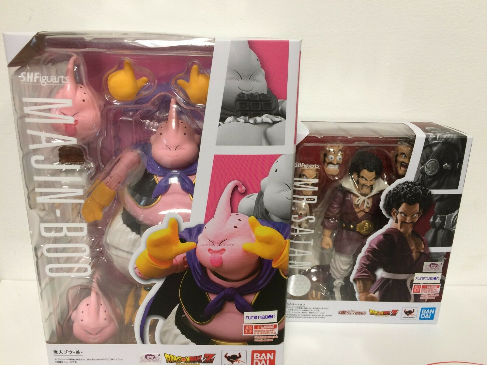 2-SET nuovo  Beai Tamashii S.H Figuarts Dragonbtutti Z Majin Boo Buu + MR SATAN  negozio online