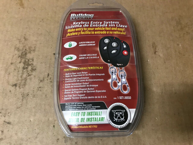 bulldog keyless entry system wiring diagram bulldog security ke1702 vehicle keyless entry system car auto  ke1702 vehicle keyless entry system car
