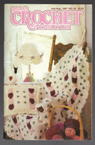 ~Annie/'s Crochet Newsletter No.28 July-Aug 1987~