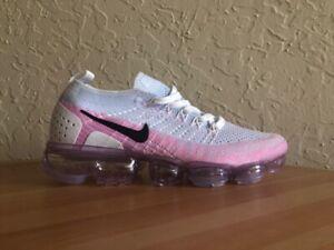 ed1c41cb7d86 Nike Air VaporMax 2 Flyknit White Hydrogen Blue Pink Women US 8 size ...