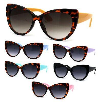 Girls Kid Size Plastic Love Heart Shape Cat Eye Sunglasses
