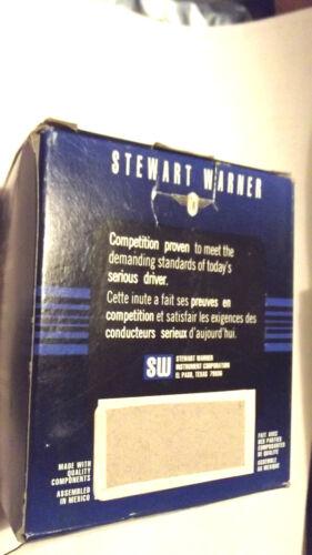"""-60-0-60+ STEWART WARNER AMP METER,2 1//32/"""" DIAMETER,BLACK,NEW IN BOX.5.8."""