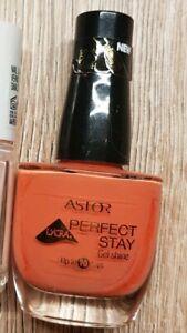 Astor Perfect Stay Gel Shine 207/840 Creamy Coral Orange Nagellack benutzt - Waldsee, Deutschland - Astor Perfect Stay Gel Shine 207/840 Creamy Coral Orange Nagellack benutzt - Waldsee, Deutschland