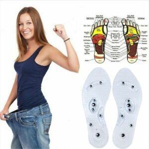 1Pair-Magnetic-Therapy-Insole-Transparent-Silicone-Anti-fatigue-Foot-Care-Insole