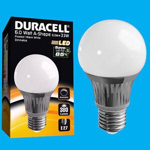 =25W 6x 4W Duracell LED Frosted Mini Globe B15 SBC Round G45 Light Bulb Lamp
