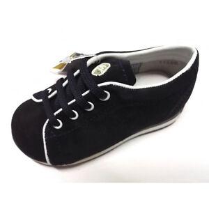 BALDUCCI 125 Sneakers Scarpe Bambino Doppio Velcro Vera Pelle Blu Giallo