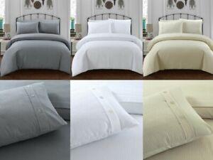 Sleepdown-WAFFLE-Polycotton-Reversible-Duvet-Cover-Set-with-Pillowcases
