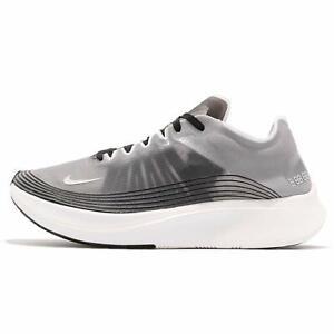 Mens-Nike-Zoom-Fly-SP-Running-Shoes-Grey-Gray-White-Black-Light-Bone-AJ9282-001