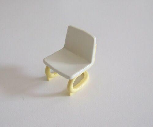 HOPITAL Chaise de Bureau Blanche /& Crème Y1287 PLAYMOBIL