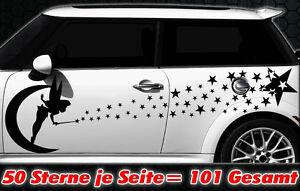 101 Étoiles Étoile Autocollants Pour Voiture Kit Sticker Pour Tuning Fee