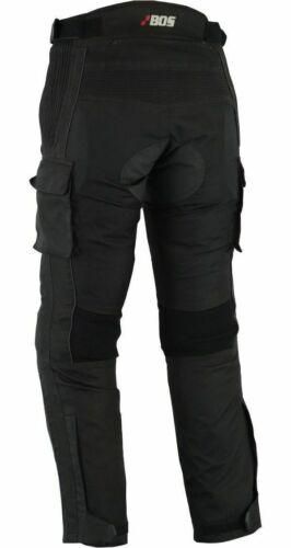 Motorradhose mit Protektoren Herren Textil Motorrad Roller Hose M bis 5XL