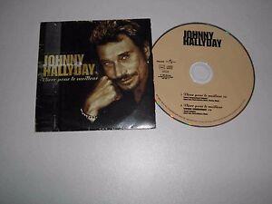 Johnny-Hallyday-CD-Single-034-Vivre-pour-le-Meilleur-034