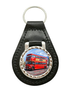 Routemaster-London-Bus-Leather-Key-Fob