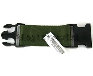 "US Military Army LBV LC-2 OD Web Pistol Utility 6"" Equipment Belt Extender NEW"