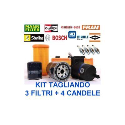 Uno 1000 1,1 fire Kit tagliando filtri candele Fiat Panda 750 1000 fire