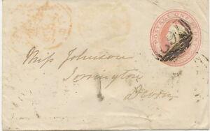 GB-1848-VF-QV-1D-pink-postal-stationerey-env-engraved-6-W-W-numeral-034-762-034