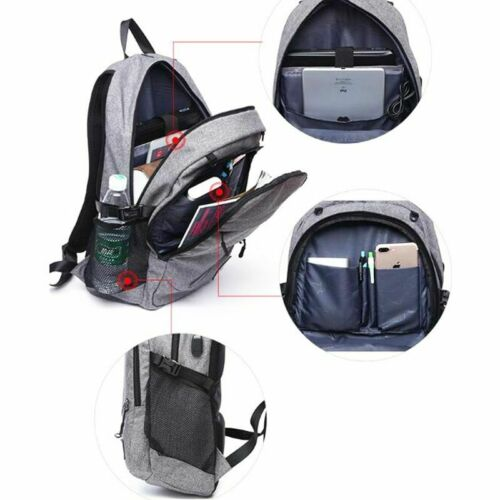Details about  /Men Sports Gym Bags Basketball Soccer Ball Football Waterproof Casual Backpack