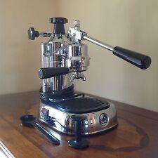 La Pavoni EPC-8 8 Cups Espresso Machine - Chrome (plus accessories in photo)