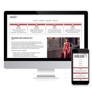 HTML Template  Responsive Auktionsvorlage HTML Vorlage ohne aktive Inhalte