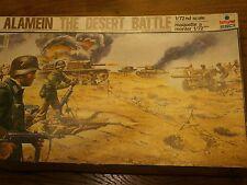 rare esci 2003 1/72 playset diorama el alamein the desert battle style arfix