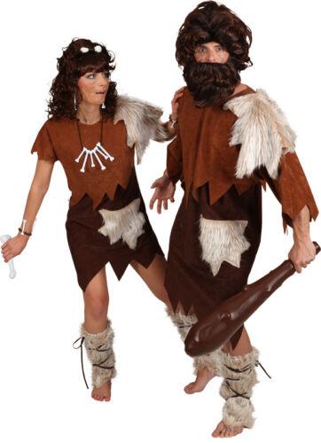 Orl Steinzeit Herren Kostüm Neandertaler zu Karneval Fasching
