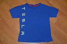 Officially Licensed Tesla Inc Motors Automobile T Shirt Youth Size 12 Kids Nice