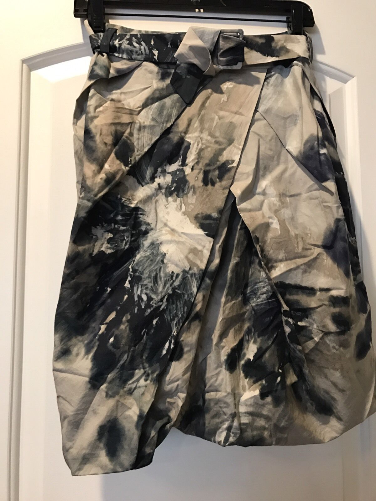 Pauw Amsterdam Balloon Belted Tie Dye Skirt Size 1 (US small)