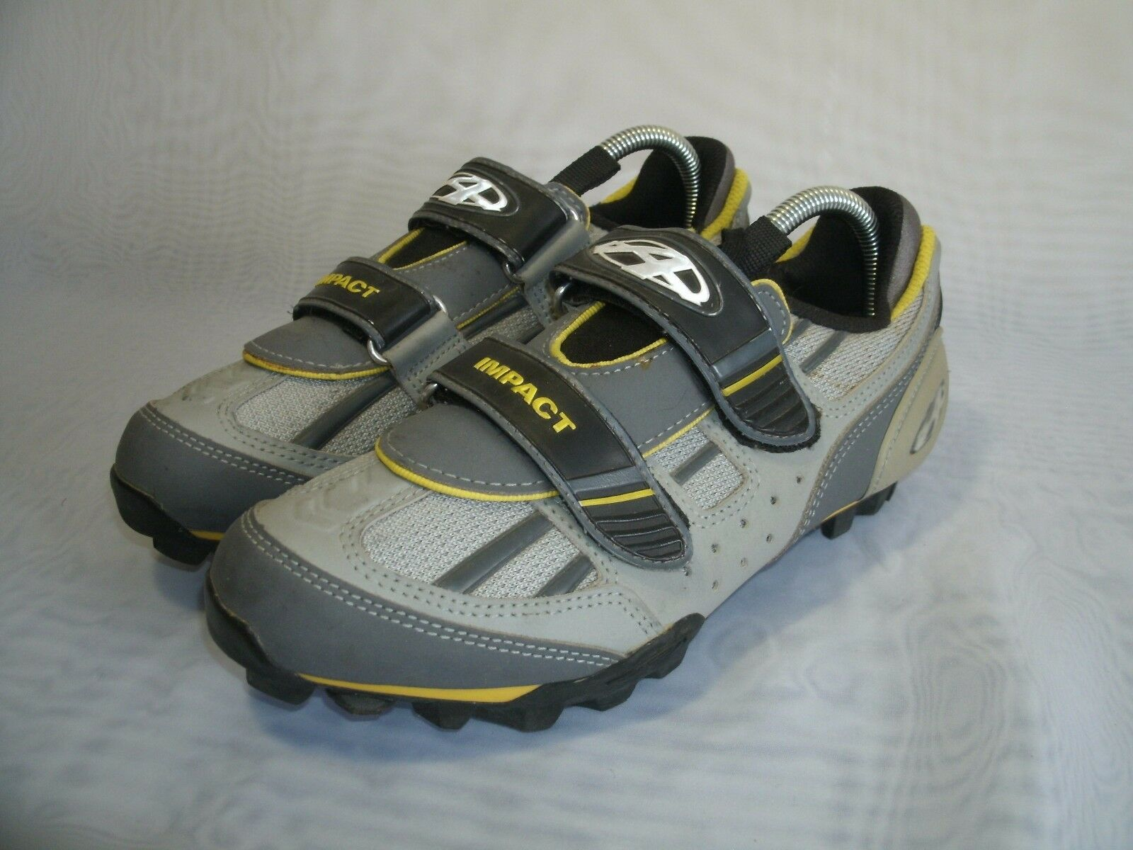 ANSWER RACING IMPACT VELCRO CYCLING SHOES   SIZE US 7.5   MEN'S