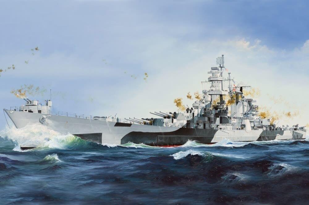 Hobby Boss 1 350 Model Kit 86513 USS Alaska CB-1