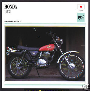 1976 honda 125cc xl 122cc japan bike motorcycle photo. Black Bedroom Furniture Sets. Home Design Ideas