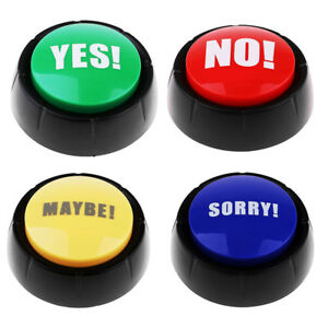 Details about Set Wireless Quiz Game Buzzers Sound Push Button Families  Party Games Supply