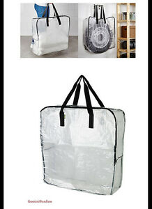 Perfect Image Is Loading IKEA Storage Bag With Zipper Clear 1pk To