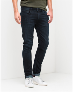 Lee® LUKE Slim Tapered Stretch Jeans Raven bluee - 30 30  SRP .00