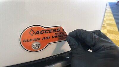 California Carpool HOV Sticker Paint Protection Film ...