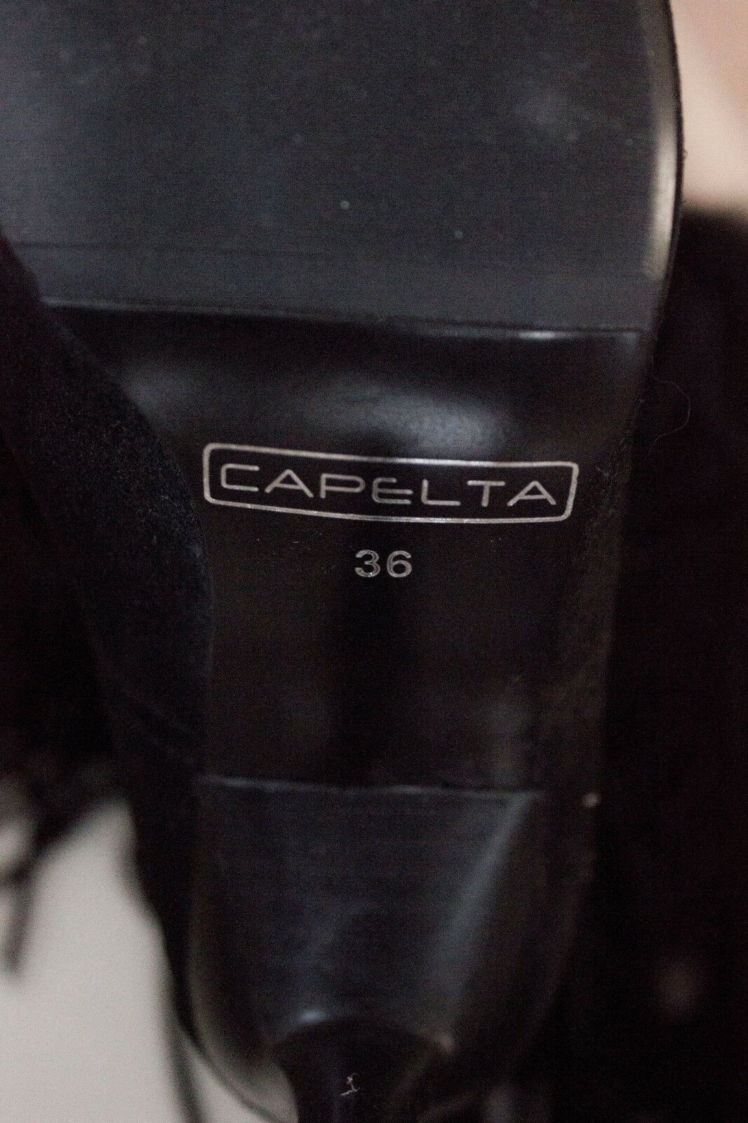 Capelta Couture Sahara Sahara Sahara Breeze Black Boots   High End   Luxury ba67b7