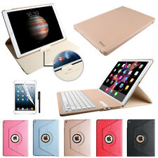 iPad Pro 12.9 Rotating Leather Smart folio Case cover without Bluetooth keyboard